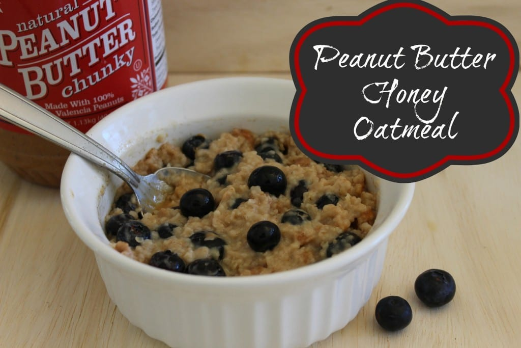 Peanut Butter Oatmeal Recipe - Married and Naked