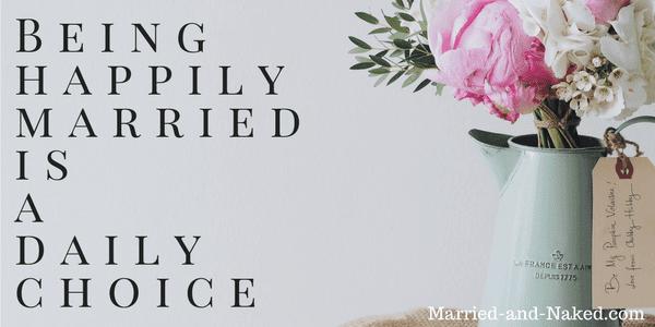 choose a happy marriage