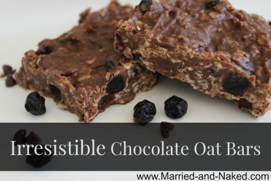 chocolate-oat-bars - married and naked