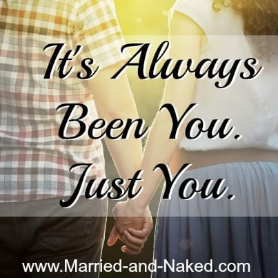 marriage quote - married and naked
