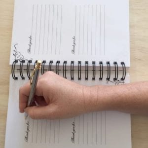 writing in journal copy
