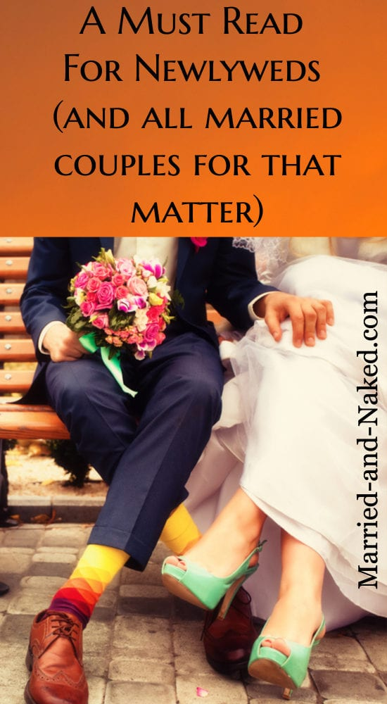 a must read for newlyweds - and all married couples