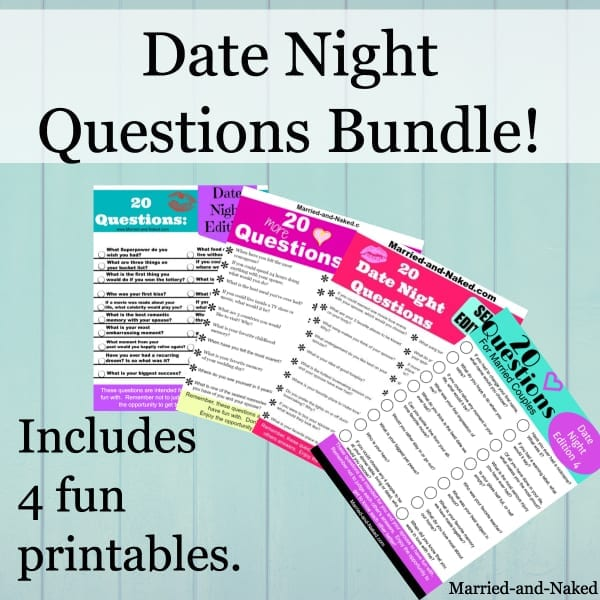 fun date night questions bundle