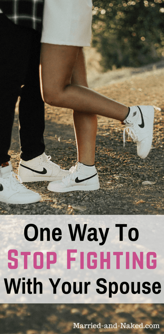 Copy of Copy one way to stop fighting with your spouse
