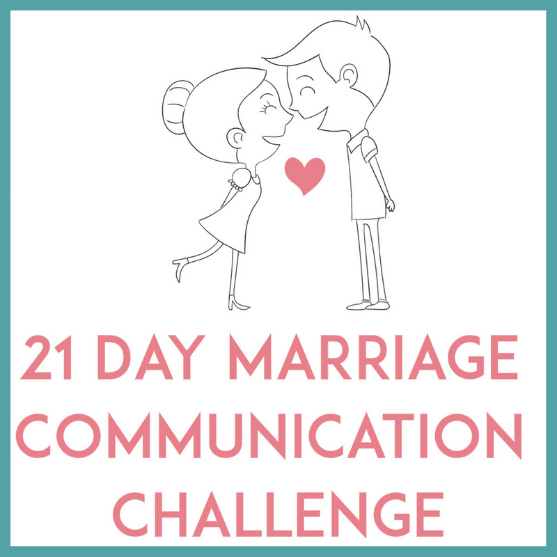 21 day marriage communication challenge