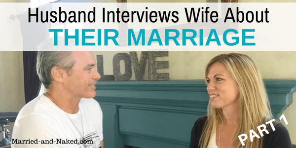 HUSBAND interviews wife about marriage