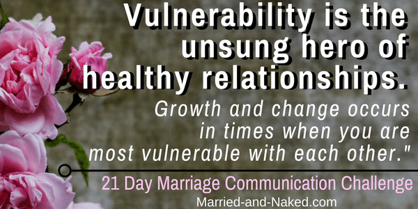 vulnerabiltiy in marriage